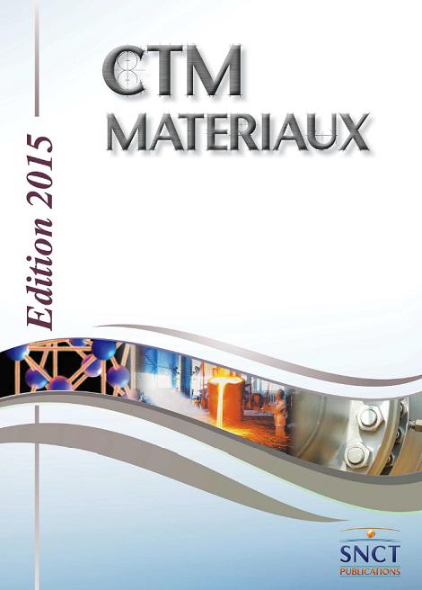 CTM Matériaux 2015 + addendum 11/16